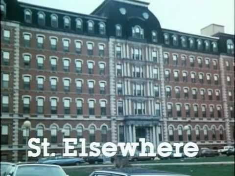 St. Elsewhere...I loved this show. Look how young Denzel was! And Howie Mandel had hair. Lots of curly hair.