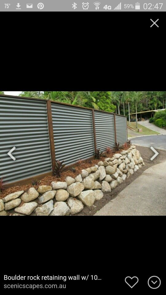 Retaining Wall Fences Pinterest Retaining Walls
