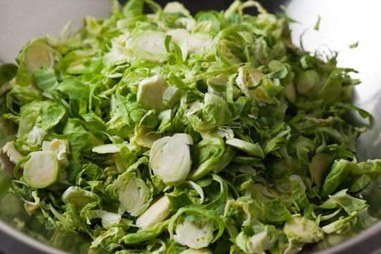 Discovering shredded brussel sprouts as a way to get the loved one to ...