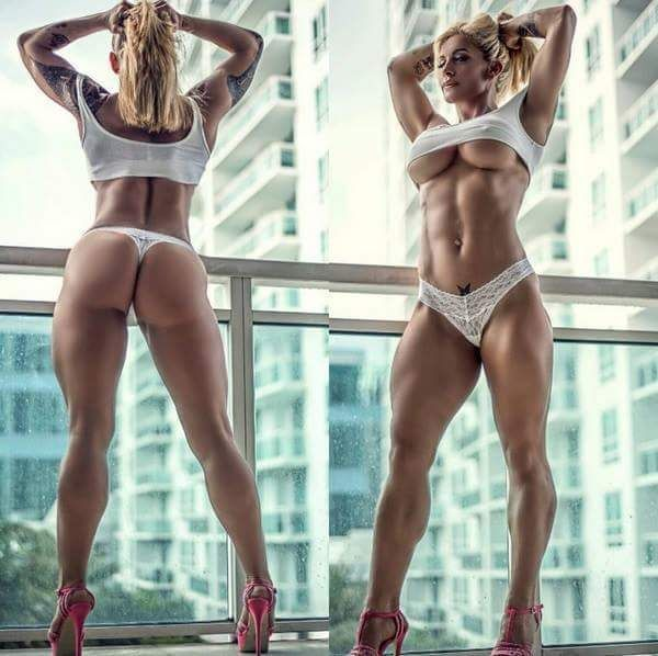 Pussy sexy muscle girl worship