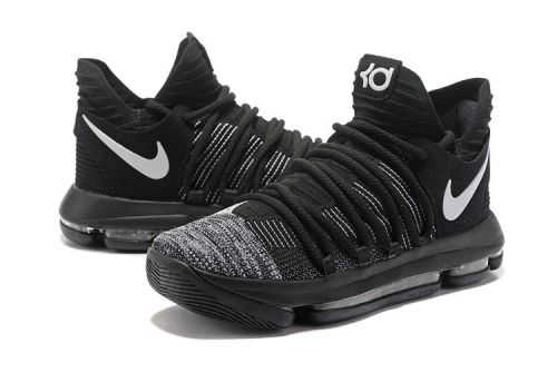brand new ee897 c1954 For Sale Basketball Hoop. Factory Authentic Nike KD 10 Oreo Black White