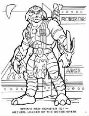 Archer Small Soldiers Coloring Pages