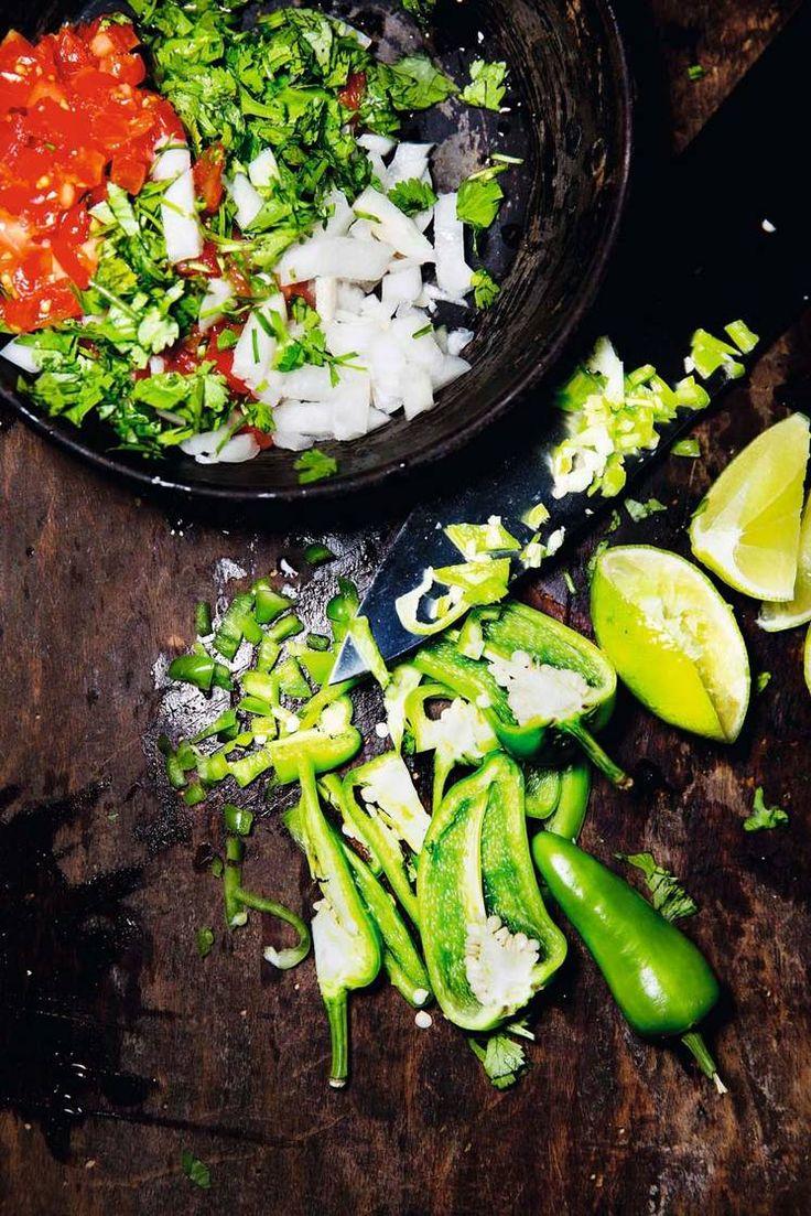 Oppskrift på Salsa Pico de Gallo av Henrik J. Henriksen fra Taco República #taco #tacorepublica #smak