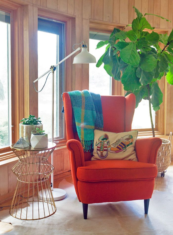 In Ohio, Trading In Traditional For Mid Century Modern | Design*Sponge