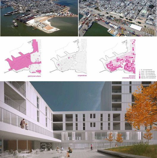 Conoce a los ganadores del concurso latinoamericano 'Pensar la vivienda, vivir la ciudad',Cuarto lugar / código E0716. Image Cortesía de Organizadores