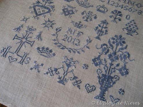 Tiny Inspirations de Thistle Threads punto de cruz cross stitch point de croix