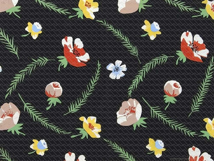 857 - Painting flat graphic flower - RU Digital