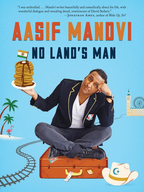 If you're an Indo-Muslim-British-American actor who has spent more time in bars than mosques over the past few decades, turns out it's a little tough to explain who you are or where you are from. In No Land's Man Aasif Mandvi explores this and other conundrums through stories about his family, ambition, desire, and culture.