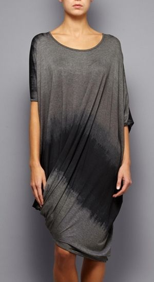 VIVIENNE WESTWOOD ANGLOMANIA Twisted Elephant Dress In Light Grey & Charcoal