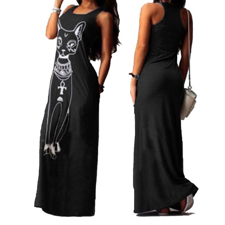 2016 New Fashion Women Summer Sexy Casual Long Maxi Evening Party Beach Dress…