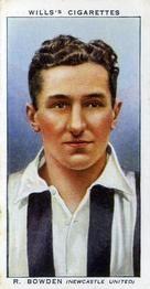1939-40 W.D. & H.O. Wills Association Footballers #8 Raymond Bowden Front