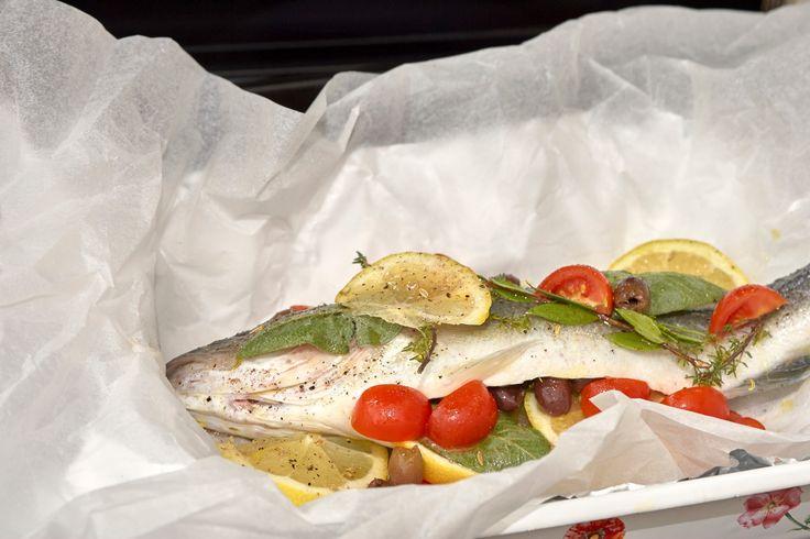 european sea bass ready for cooking - european sea bass ready for cooking in my house