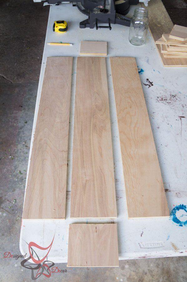DIY Table Trough Centerpiece