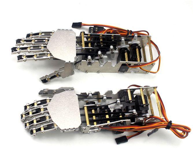 SainSmart 5-DOF Humanoid Robotic Arm & Hand   Awesome Robots & DIY