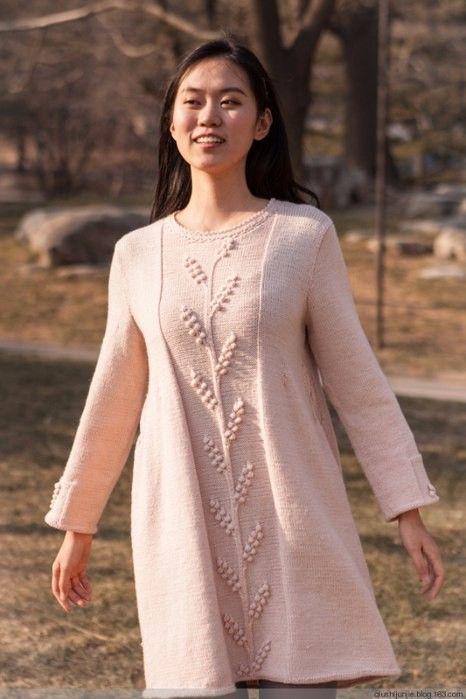 Очень стильное платье - подборка схем