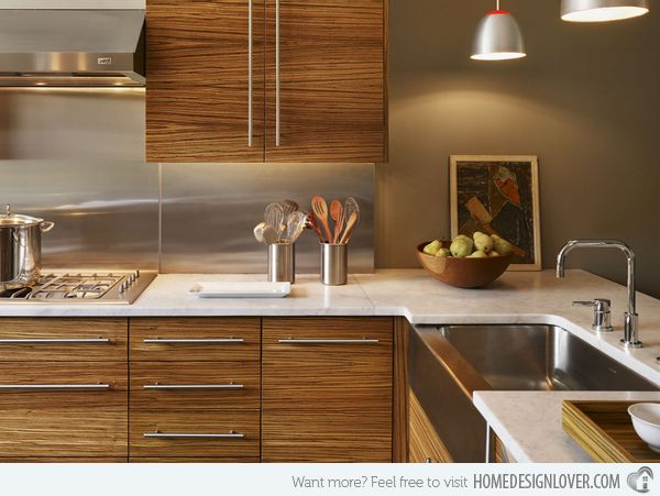 15 Designs Of Modern Kitchen Cabinets Home Pinterest And