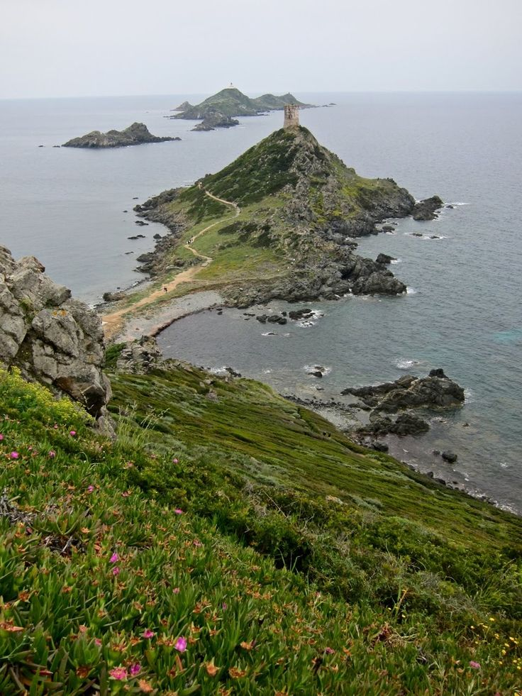 the Sanguinary Islands in Corsica