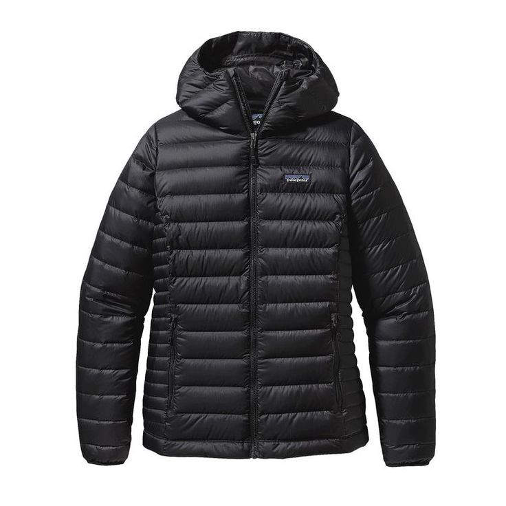 Patagonia Women's Down Sweater Hoody ($279) - Small, black (for Erz).