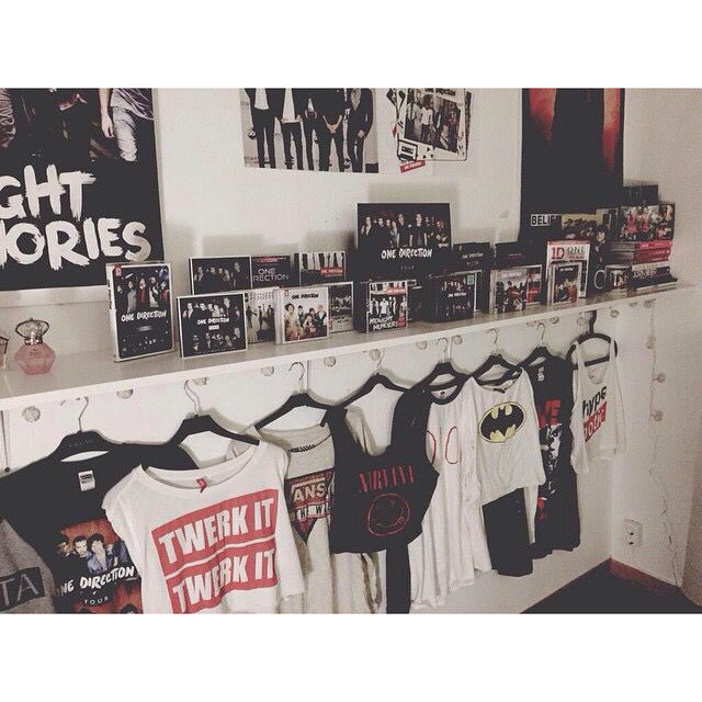 One direction room goals af one direction pinterest for Cuartos para ninas tumbler