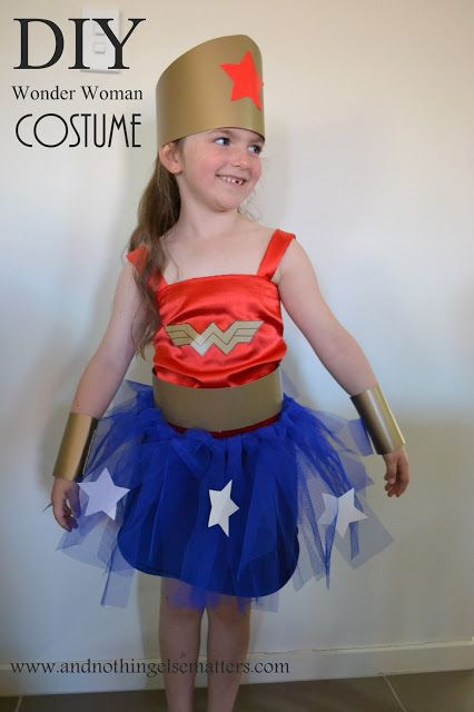 1000 Ideas About Diy Wonder Woman Costume On Pinterest -1937