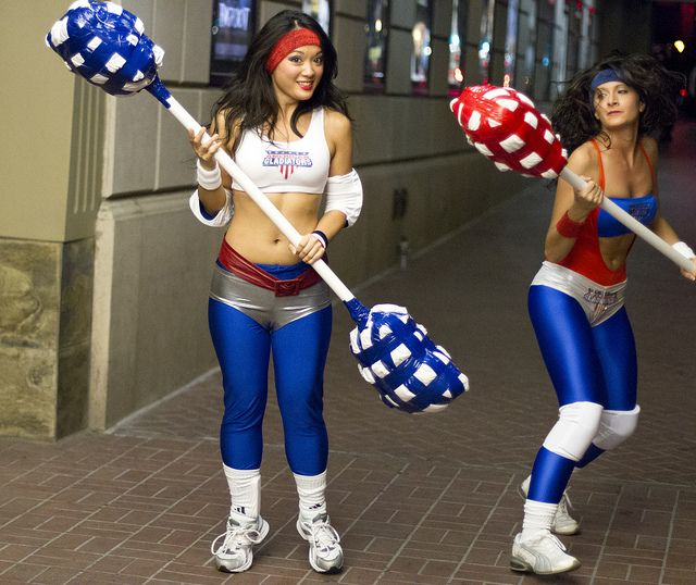 american gladiator costume | American Gladiators | Flickr - Photo Sharing!