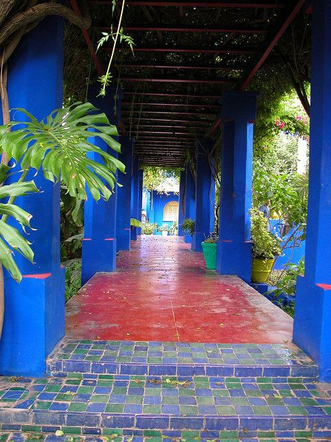Yves Saint Laurent House in Marrakech