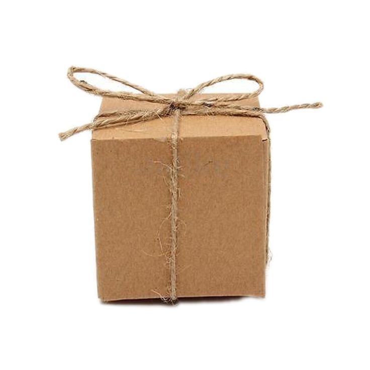 10 pcs Blanc brun Kraft Papier Boîte De Bonbons De Mariage vintage de mariage décoration cadeaux boîte De Rangement pour les clients dans Cadeau Sacs et Emballage Fournitures de Maison & Jardin sur AliExpress.com | Alibaba Group