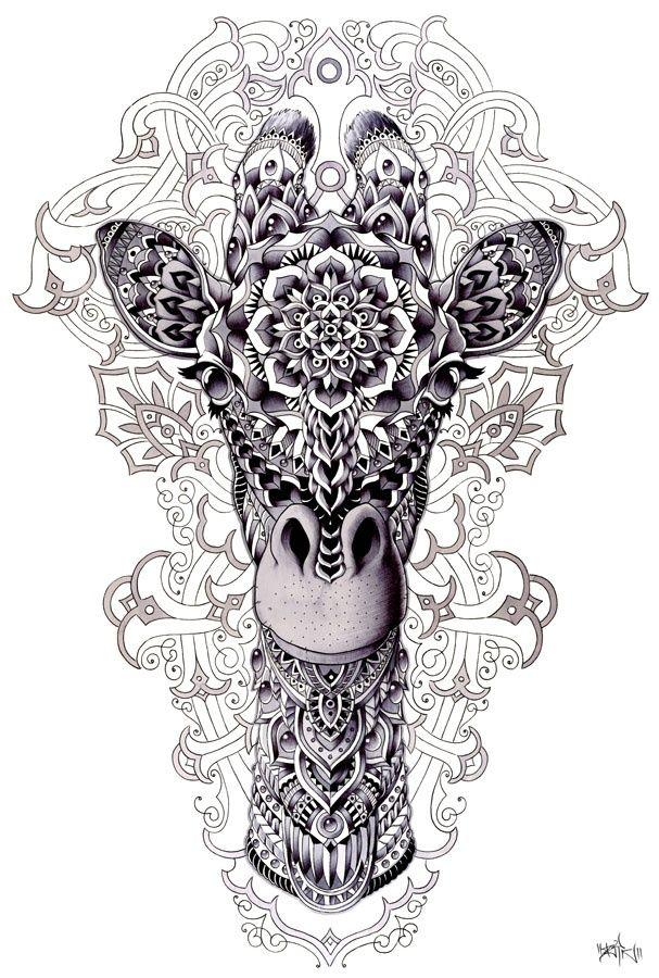 ... Small Giraffe Tattoo, Baby Giraffe Tattoo and Giraffe Print Tattoos