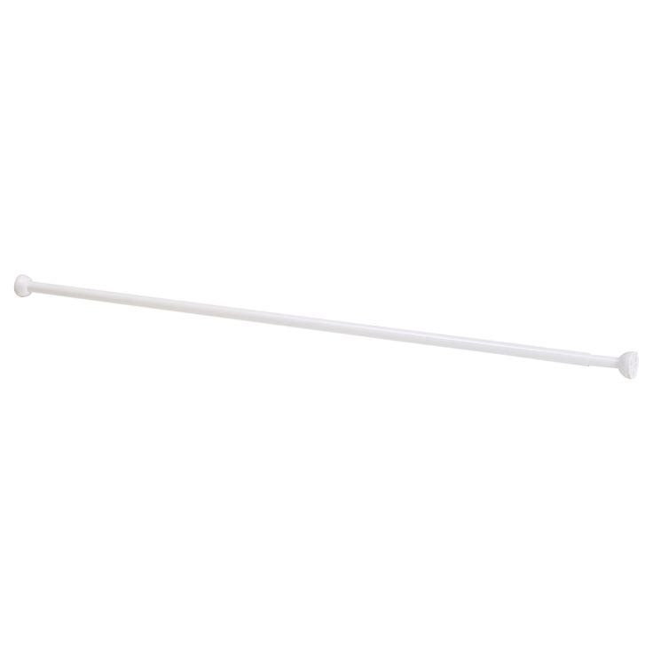 ORE Shower curtain rod - IKEA  for window herb garden