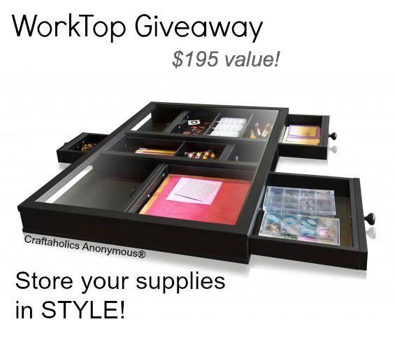 Win a Work top
