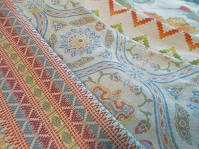 ARTISAN GLOBAL - Sunbury Textiles - Colorstitch, Langford Garden, Ric-Rac, Devon Garden #Fabric