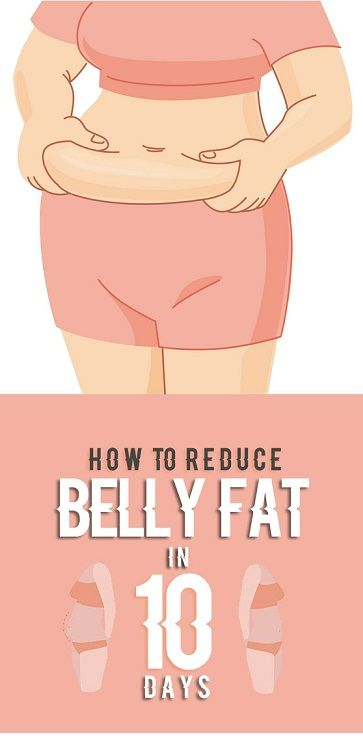 how to cut belly fat in 10 days