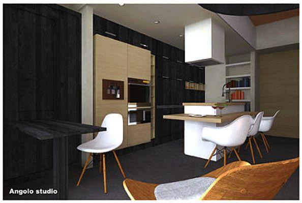 Esami finali Corso di Interior Design (www.madeininterior.it): progetto di interni, Oreste Daniele