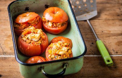 Stuffed Tomatoes Recipe - Great British Chefs