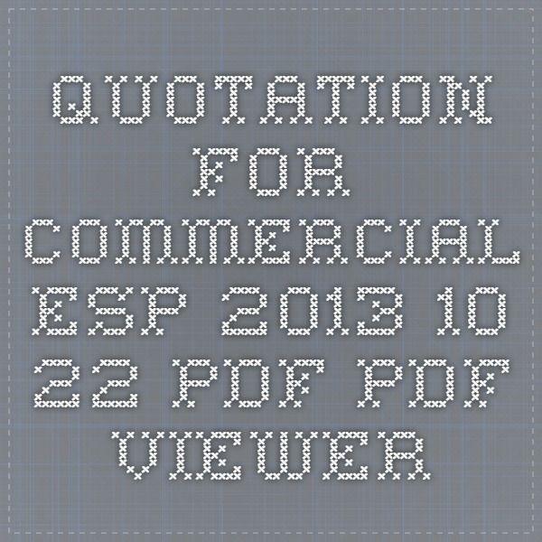 Quotation for Commercial ESP 2013.10.22.pdf - PDF Viewer http://pinterest.com/pin/create/button/?url=DIRECCION&media=DIRECCION DE LA PAGINA