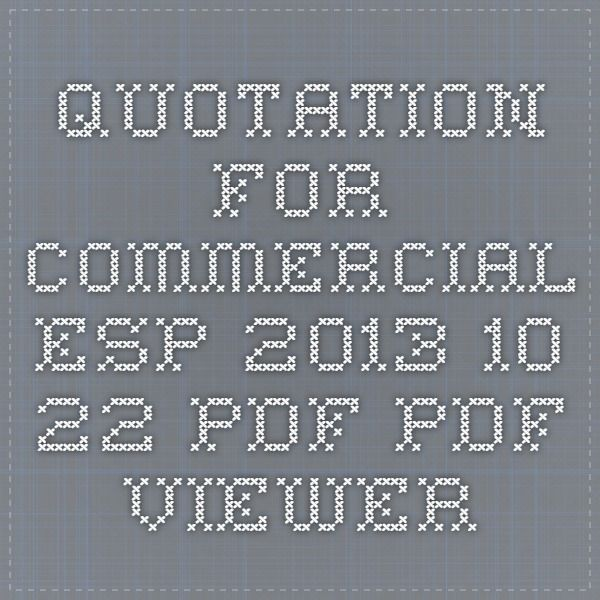 Quotation for Commercial ESP 2013.10.22.pdf - PDF Viewer