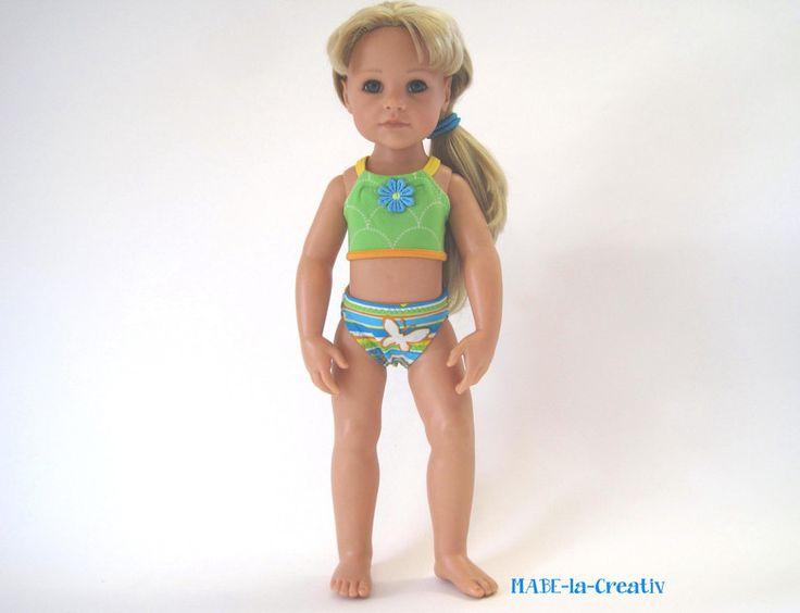 """"""" Hannah """" Bikini von © MABE la Creativ - KIDS auf DaWanda.com"""
