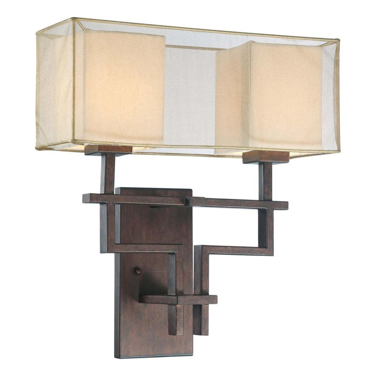 Master nuvo lighting 60 4382 2 light melanie wall sconce corvo bronze