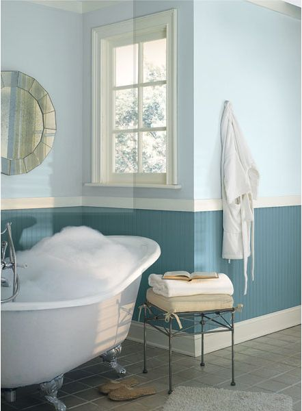 66 best images about paint colors on pinterest hale navy for What kind of paint to use in a bathroom