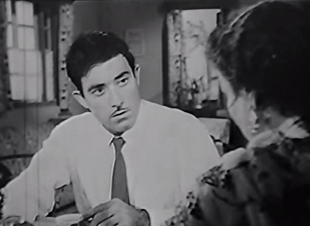 "halfwaythruthedark: "" And … Raaj Kumar realizes he's married a psycho. Dil Apna Aur Preet Parai (1960) """
