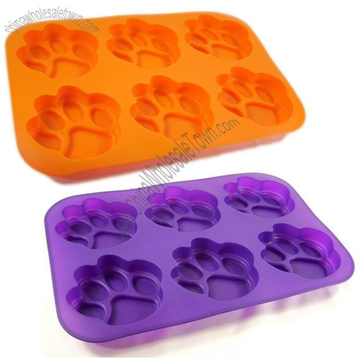 Orange Paw Print Logo Cup Cake And Muffin Pan Wholesale China