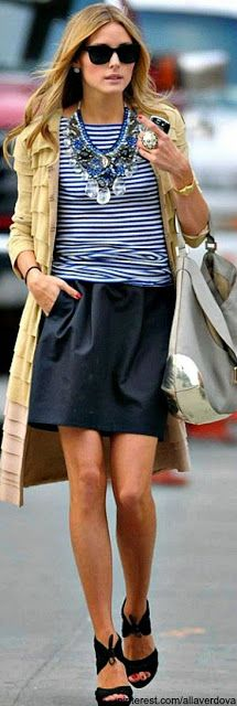 Style Crush: 10 Times Olivia Palermo Slayed the Fashion World//Sweetheart in Seersucker    47      5