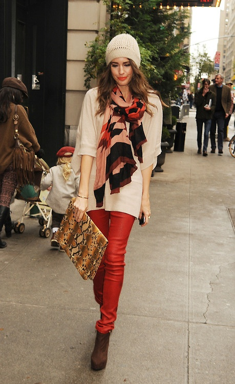 street style by Louise  Roe
