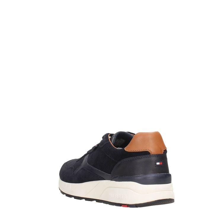 Tommy Hilfiger FM56821600 Blue Footwear Men Sneakers