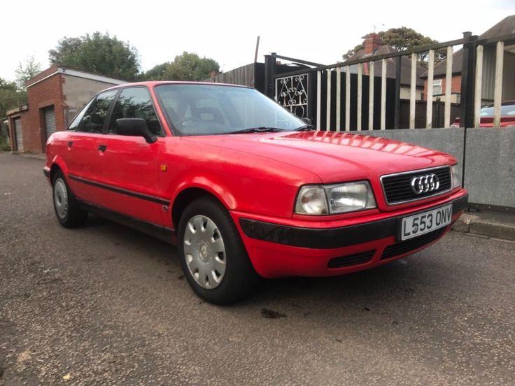 eBay: 1993 (L) Audi 80 E Automatic 2.0 Mot feb 2018 nice car NO RESERVE UNPROTECTED