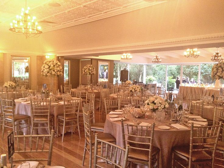 Oatlands House - The Deck Room boasts full length views onto the garden and abundant natural light. Guests can enjoy pre-event cocktails on the Deck Room's private terrace.