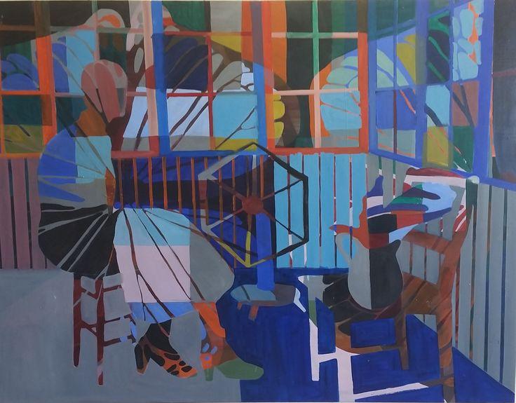 Anne Torpe No title 115x150 cm. Olie på lærred