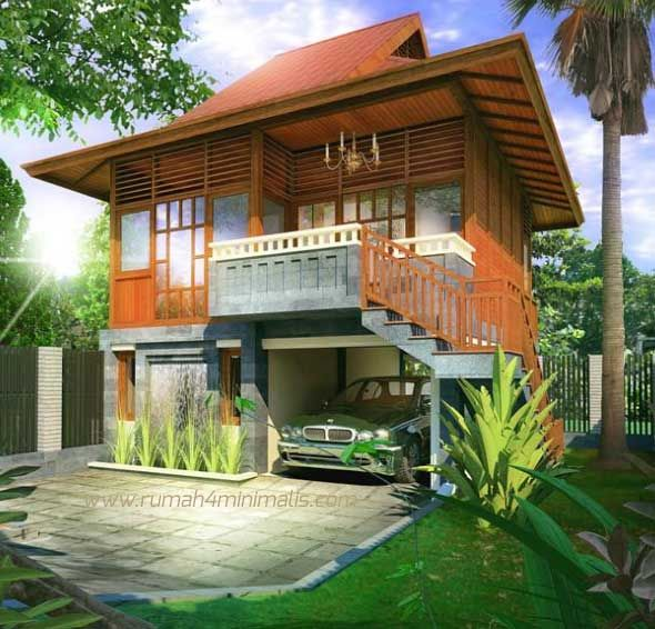 Simple Bamboo House Design