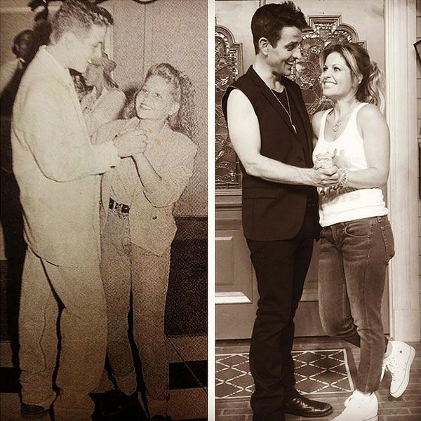 Fuller House's Candace Cameron Bure and NKOTB's Joey McIntyre Reunite on Set – See the Adorable Photo! http://www.people.com/article/fuller-house-candace-cameron-bure-joey-mcintyre-reenact-pose
