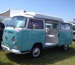 Retro campervan - best colour!